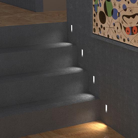 vanilla step lighting
